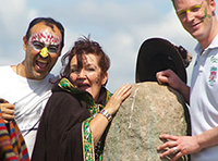 Majella hosted the 7th International Gathering of Shaman in 2015